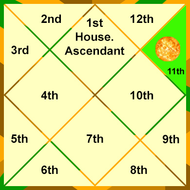 Sun-in-the-11th-House